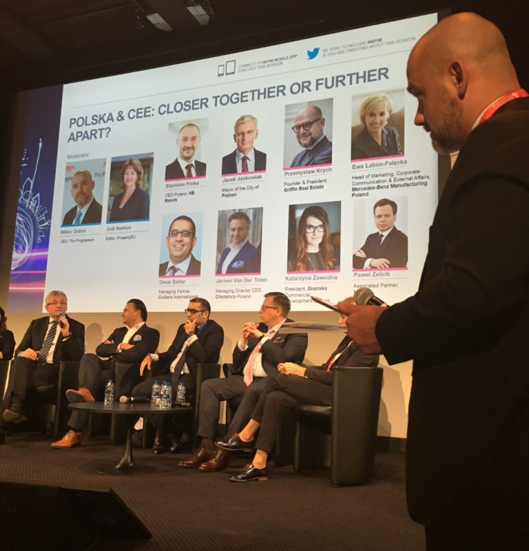 CEE Panel at MIPIM 2017_moderated by WIktor Doktor