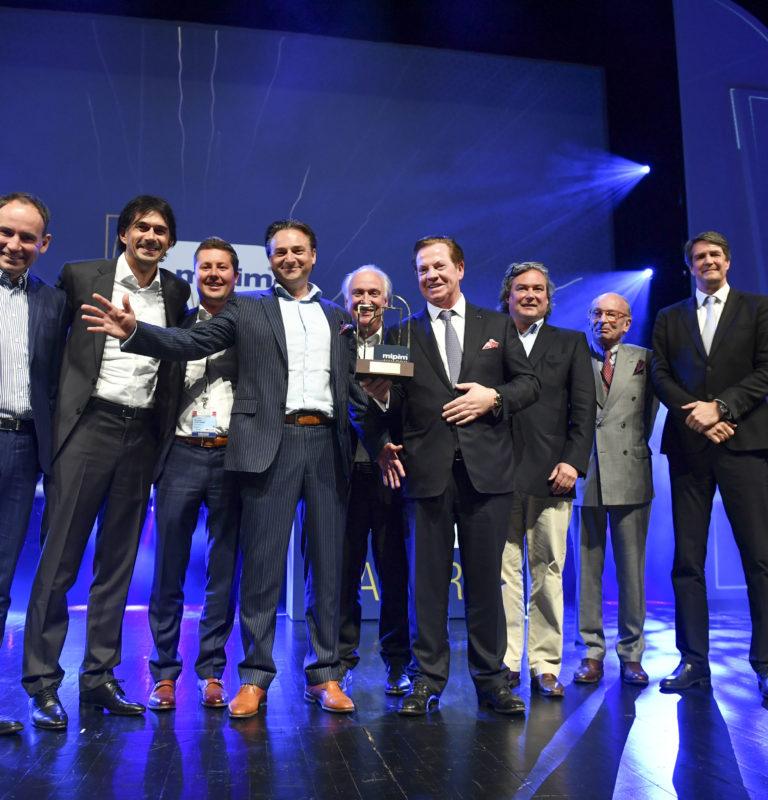 MIPIM AWARDS 2017 CEREMONY - BEST OFFICE & BUSINESS DEVELOPMENT CATEGORY - WARSAW SPIRE