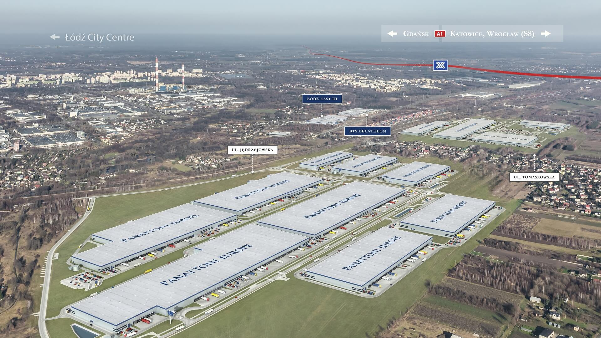 Lodz central logistics hub by Panattoni Europe