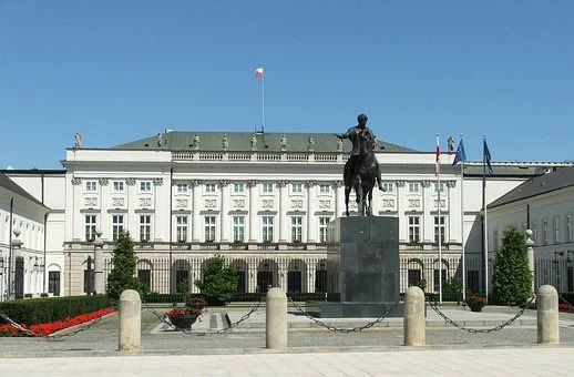 The Presidential Palace in Warsaw, where Andrzej Duda will spend the next 5 years of his 2nd term
