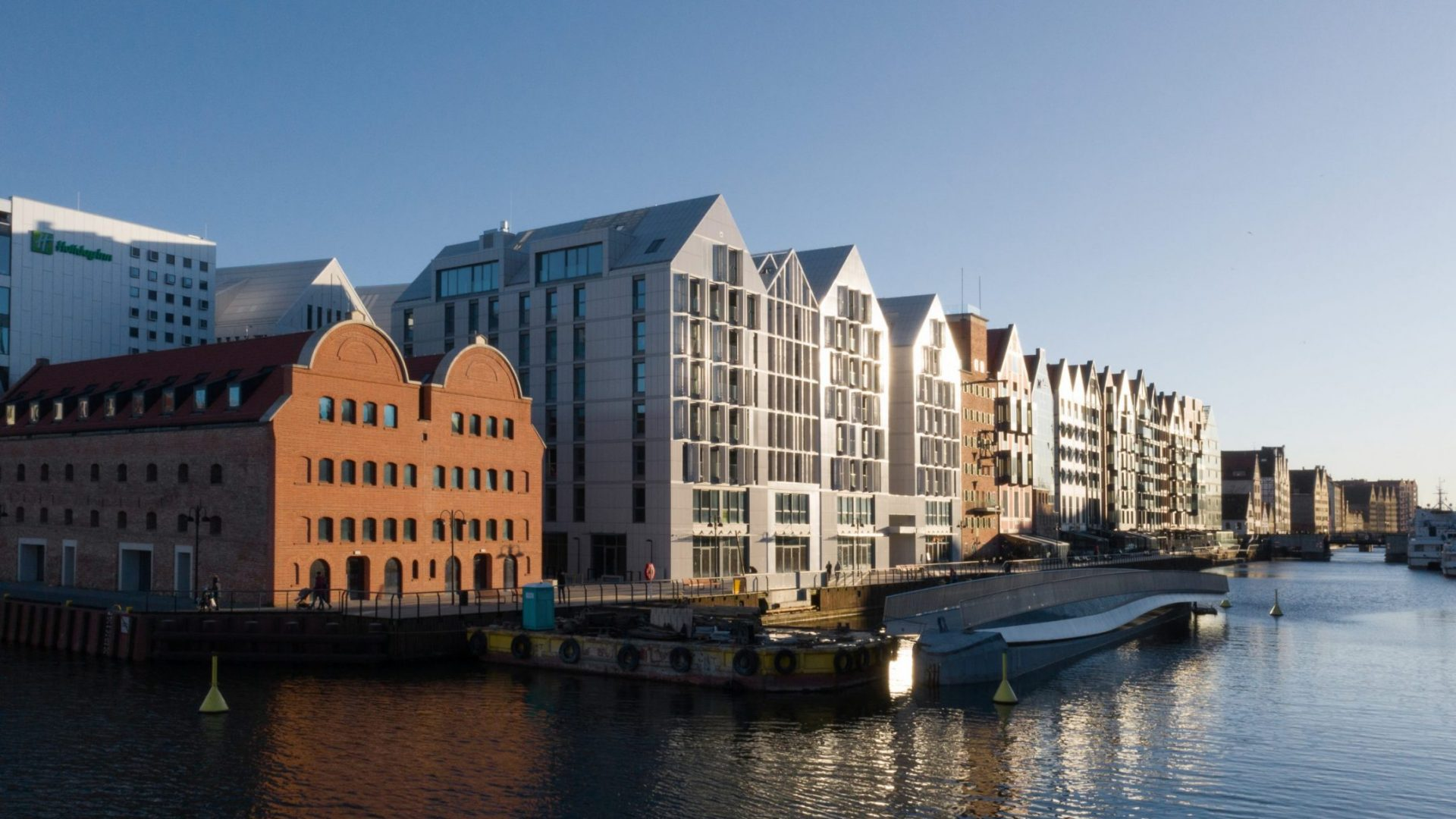 Granary Island in Gdańsk, the 600-year-old trading site which won Best Urban Project at the MIPIM Awards 2020