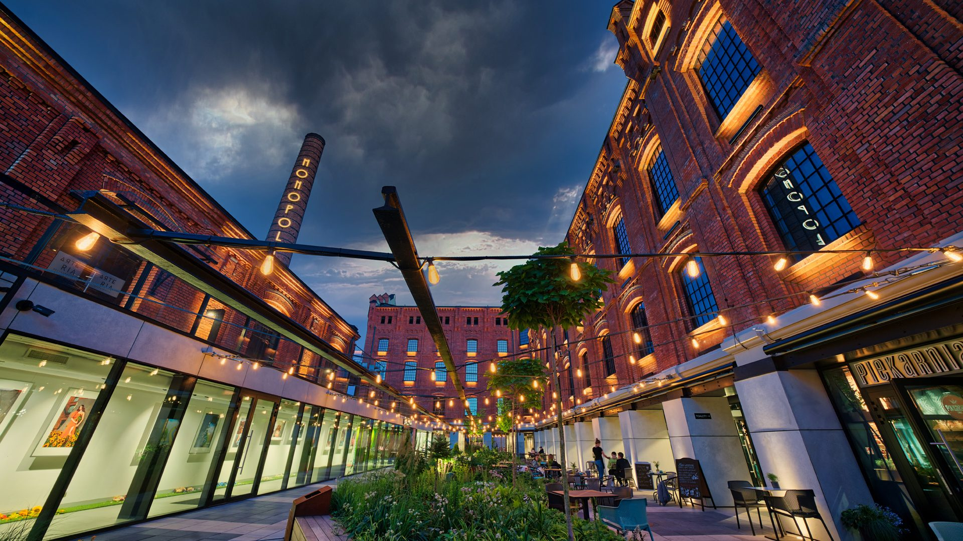 Monopolis in Łódź, the former vodka factory which won Best Mixed-Use Project at the MIPIM Awards, taking the city's tally to two