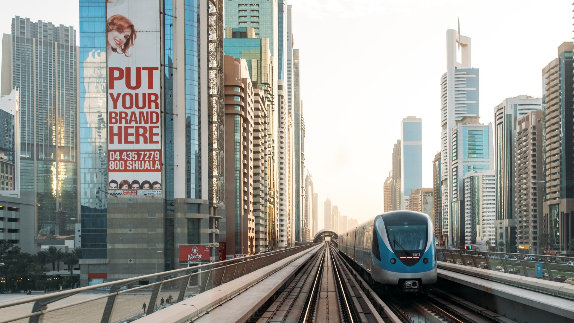 Dubai is one of the destinations for metro trains produced in Poland by Alstom