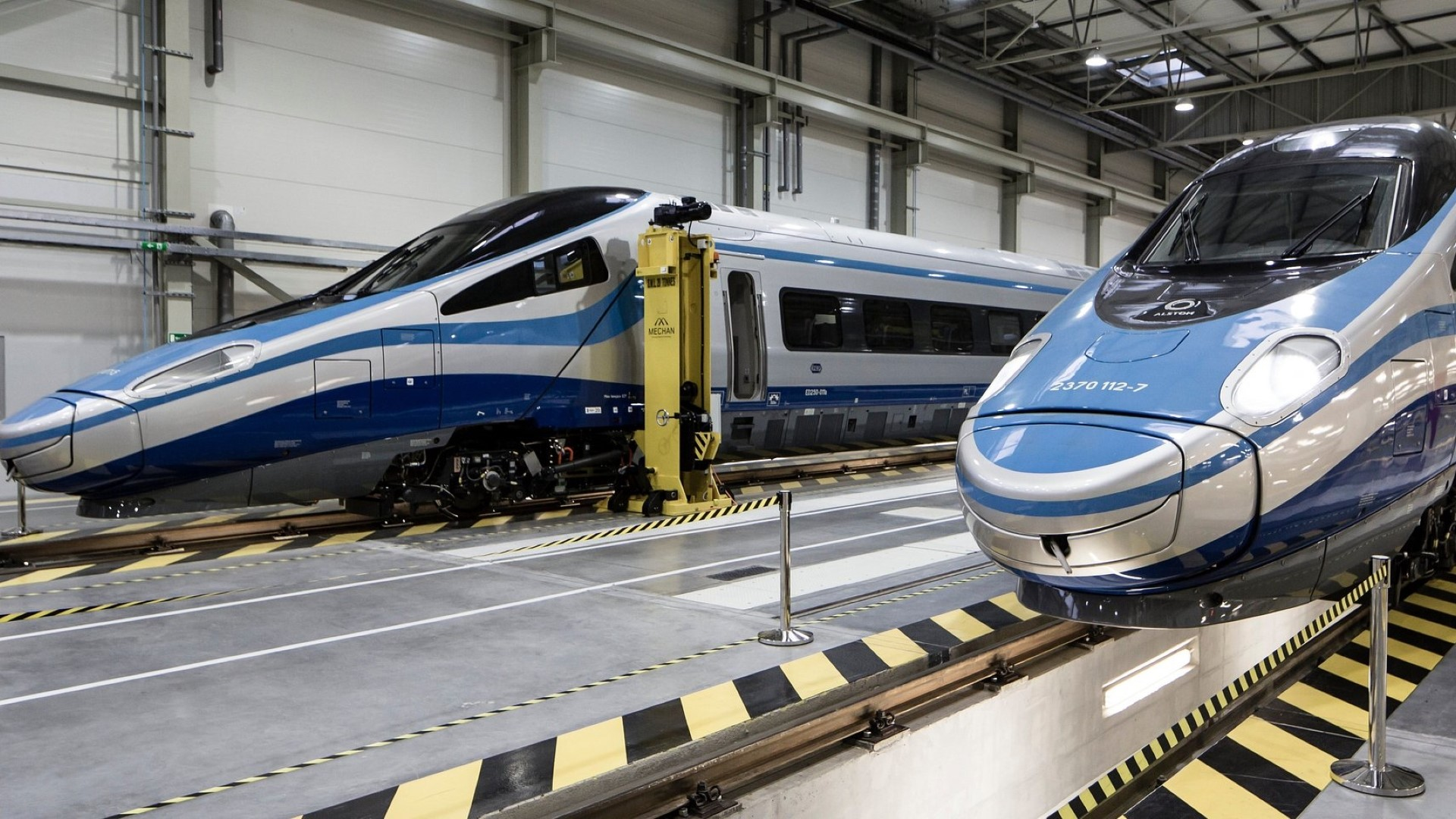 Alstom introduced the Pendolino high-speed train to Poland in 2014. There are currently 20 Pendolinos in operation in the country.