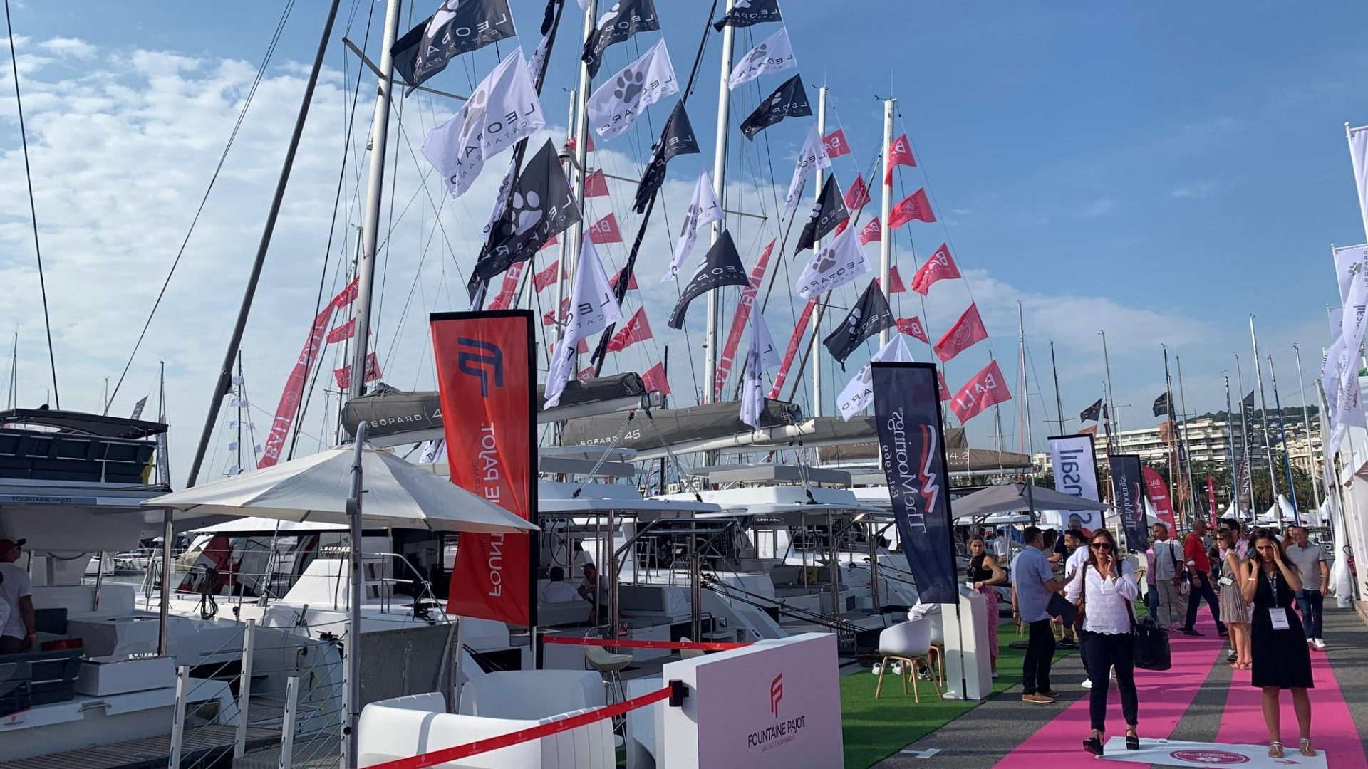 Cannes Yachting Festival. Photo by Richard Stephens